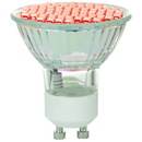 Sunlite 80328-SU Mr16 Colored Mini Reflector, Gu10 Base Light Bulb, Red