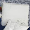 Simply Charming GB725I French Lace Guest Book w/ Initials