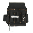 Style N Craft 70603 10 Pocket Electrician's Tool Pouch in Heavy Top Grain Oiled Leather