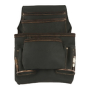 Style N Craft 90923 10 Pocket Nail and Tool Pouch in Oiled Top Grain Leather