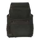 Style N Craft 90926 10 Pocket Nail and Tool Pouch in Oiled Top Grain Leather