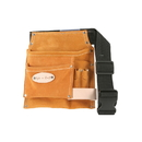 Style N Craft 91488 5 Pocket Carpenter's Tool Belt in Suede Leather