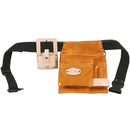 Style N Craft 91489 5 Pocket Carpenter's Tool Belt in Suede Leather with Tape Holder