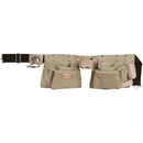 Style N Craft 92427 10 Pocket Carpenter's Tool Belt in Top Grain Leather