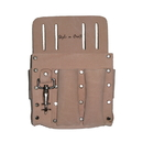 Style N Craft 94126 5 Pocket Electrician's Tool Pouch in Heavy Top Grain Leather
