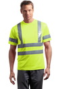 CornerStone - ANSI 107 Class 3 Short Sleeve Snag-Resistant Reflective T-Shirt. CS408.