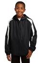 Sport-Tek - Youth Fleece-Lined Colorblock Jacket. YST81.