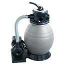 "Blue Wave NE6145 Small A/G Sand Filter System - 12"" Filter With 1/2 HP Pump"