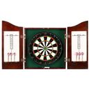 Carmelli NG1041CH Centerpoint Solid Wood Dartboard & Cabinet Set - Cherry Finish