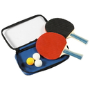 Carmelli NG2344P Control Spin Table Tennis 2-Player Racket & Ball Set
