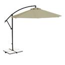 Blue Wave NU6400B Santiago Cantilever Umbrella (10' Octagon) - Beige Sunbrella Acrylic