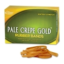 Pale Crepe Gold Rubber Band, Size: #18 - 3