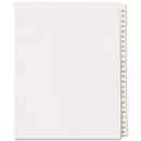 Avery Side Tab Collated Legal Index Dividers, 25 x Divider - Printed126-150 - 25 Tab(s)/Set - 8.50