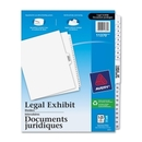 Avery Premium Collated Legal Exhibit Divider, 26 x Divider - Printed1 - 25 - 26 Tab(s)/Set - 8.50