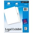 Avery Premium Collated Legal Exhibit Divider, 26 x Divider - Printed26 - 50 - 26 Tab(s)/Set - 8.50