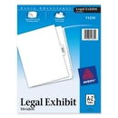 Avery Premium Collated Legal Exhibit Divider, 26 x Divider - PrintedA - Z - 26 Tab(s)/Set - 8.50