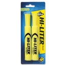 Avery Hi-Liter Desk Style Highlighter, Chisel Marker Point Style - Fluorescent Yellow Ink - 1 / Pack