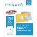 Avery Pres-A-Ply Standard Shipping Label, 3.33