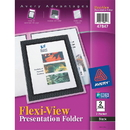 Avery Flexi-View Presentation Two Pocket Folder, Letter - 8.50