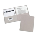 Avery Two Pocket Folder, Letter - 8.50