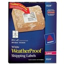 Avery Weather Proof Mailing Label, 3.33
