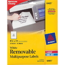Avery Removable Label, 8.50