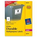 Avery Permanent Durable I.D. Label, 8.50