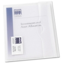 Avery Translucent Document Wallet, Letter - 8.50