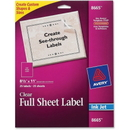 Avery Easy Peel Mailing Labels, 8.50