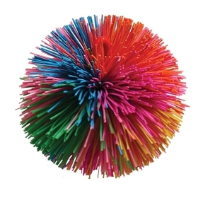 "Baumgartens Stringy Play Ball, 3"" Diameter - Rubber - Assorted, Price/EA"
