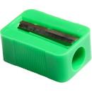 Baumgartens Single Pencil Sharpener, 1 Hole(s) - Plastic - Assorted