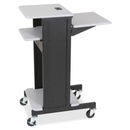 Balt Projector Stand, 2 x Shelf(ves) - Gray