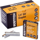 Stanley-Bostitch B8 PowerCrown Staples, 210 Per Strip - 0.25