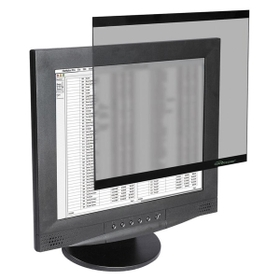 "Compucessory Tempered Glass Filter, 17"" LCD, Price/EA"