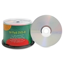 Compucessory DVD Recordable Media - DVD-R - 16x - 4.70 GB - 50 Pack, 120mm