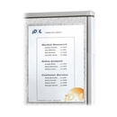 C-line Cubicle Keepers Self-Gripping Office Panel Organizer, Polypropylene - 2 / Pack - White