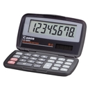 Canon LS555H Wallet Calculator, 8 Character(s) - LCD - Battery/Solar Powered - 4.3