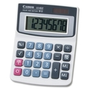 Canon LS82Z Handheld Calculator, 8 Character(s) - LCD - Battery/Solar Powered