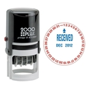 COSCO D-I-Y Set Self-Inking Stamp, RECEIVED Message/Date Stamp - 1.63