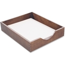 Carver Hedberg Letter Size Desk Tray, Oak - Walnut