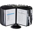 Durable Sherpa Carousel 40 Desktop Rotary System, 16.5