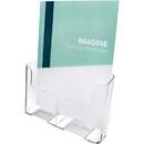 Deflect-o Magazine Size Rigid Literature Rack, Wall Mountable - 10.8
