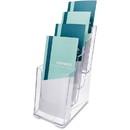 Deflect-o Leaflet Size Literature Holder, Wall Mountable - 10