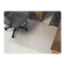 Deflect-o SuperMat Checkered Chair Mat, Carpeted Floor - 60