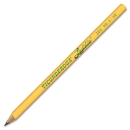 Ticonderoga Laddie Pencil, #2 Pencil Grade - Yellow Barrel - 12 / Dozen
