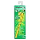 Ticonderoga Pencil with Eraser, #2 Pencil Grade - Yellow Barrel - 12 / Dozen