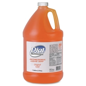 Dial DPR88047 Dial Liquid Dial Gallon Size Hand Soap, 1 gal (3.8 L) - Antimicrobial, Anti-bacterial - 1 Each, Price/EA