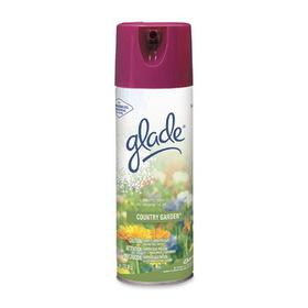 JohnsonDiversey Glade Air Freshener, Aerosol - 13 oz - Country Garden Potpourri, Price/EA