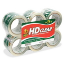 Duck HD Clear Extra Wide Packaging Tape, 3