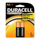 Duracell Alkaline General Purpose Battery, AA - Alkaline - 1.5 V DC, DURMN1500B2Z